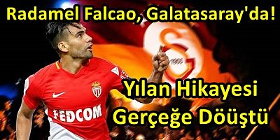 Radamel Falcao, Galatasaray'da!